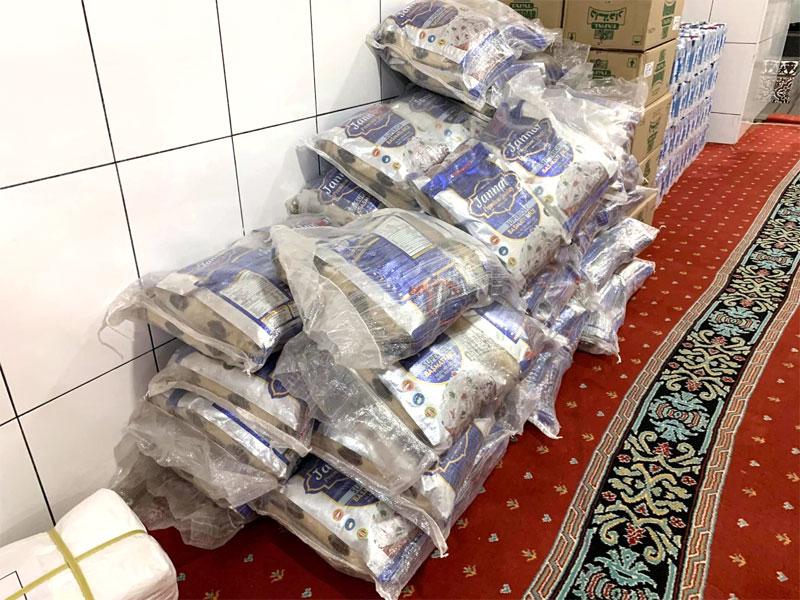 Food distribution by Minhaj Welfare Foundation
