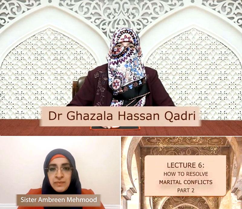 Al-Nasiha 2021 - Dr Ghazala Qadri speaks on how to resolve marital conflicts
