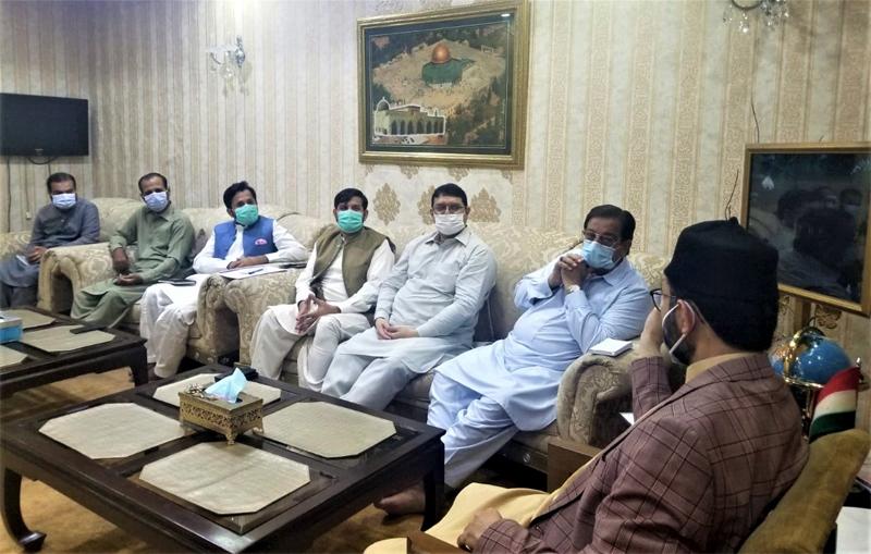 Dr Hassan Mohi ud Din Qadri addressed Fahm e Deen meeting