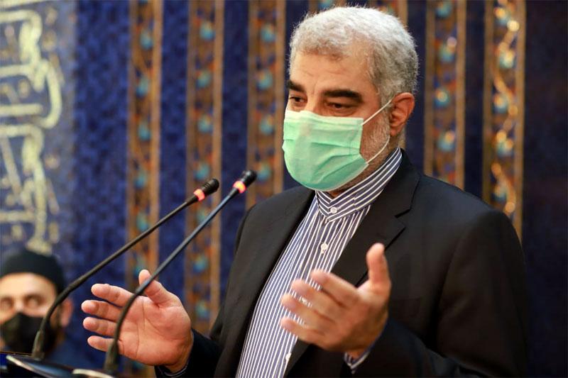 Agha Mohammad Surkhabi, Deputy Ambassador of the Republic of Iran, gave a speech at the ceremony