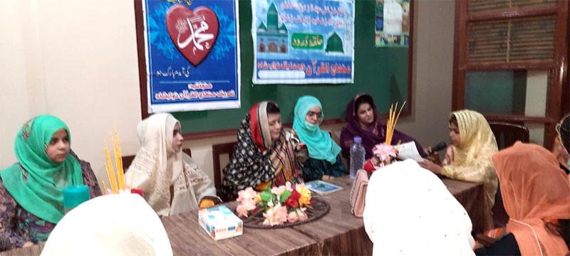منہاج القرآن ویمن لیگ کا 8 روزہ دورہ سندھ