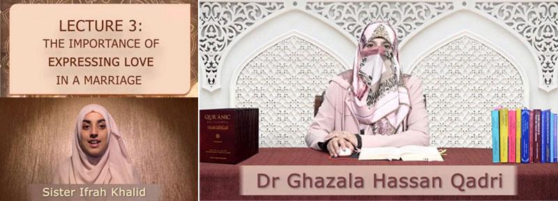 Al-Nasiha 2021 Dr Ghazala Hassan Qadri speaks on How to express love in a marital relationship
