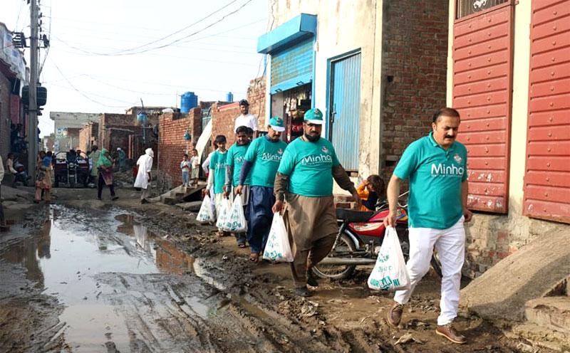 Shaykh-ul-Islam Dr Muhammad Tahir-ul-Qadri lauds the role of MWF during Qurbani campaign