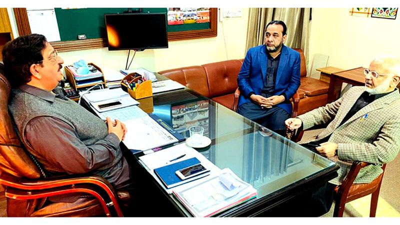 PTI leader Ejaz Chaudhary calls on Khurram Nawaz Gandapur