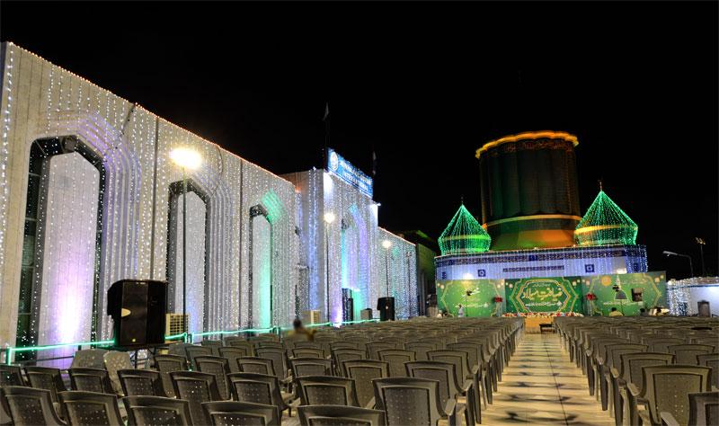 MQI Secretariat lighted ahead of the start of Rabi-ul-Awwal