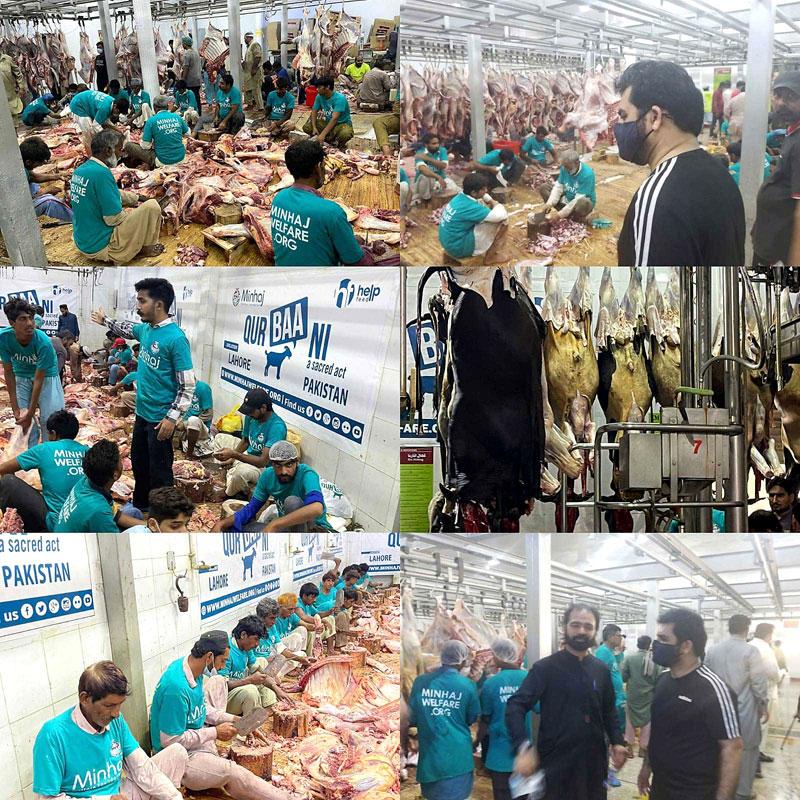 Khawaja Kamran Rashid visits central slaughterhouse in Lahore