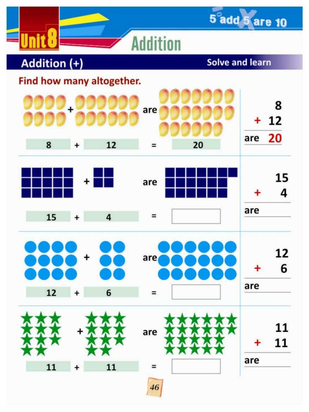 My Math for Class One - Minhaj-ul-Quran
