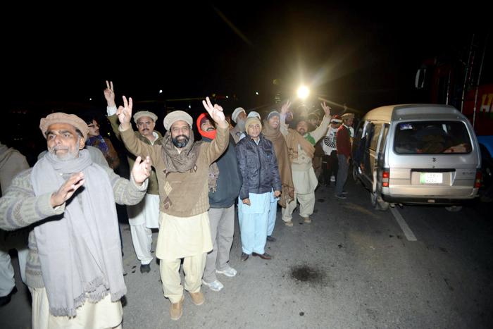 Dr Tahir-ul-Qadri Democracy Long March Pakistan