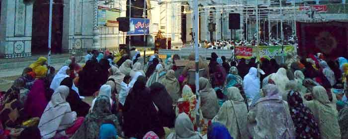 سرگودھا: 5 روزہ دروس عرفان القرآن کا پہلا روز
