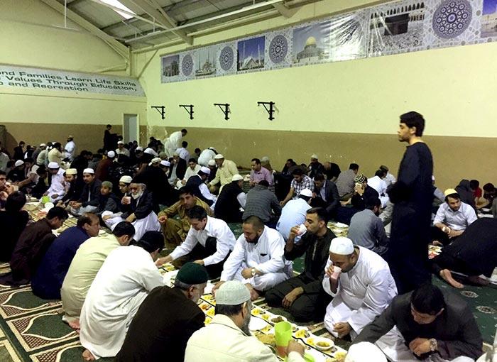 MQI MWL Nottingham host annual Iftaar Dinner