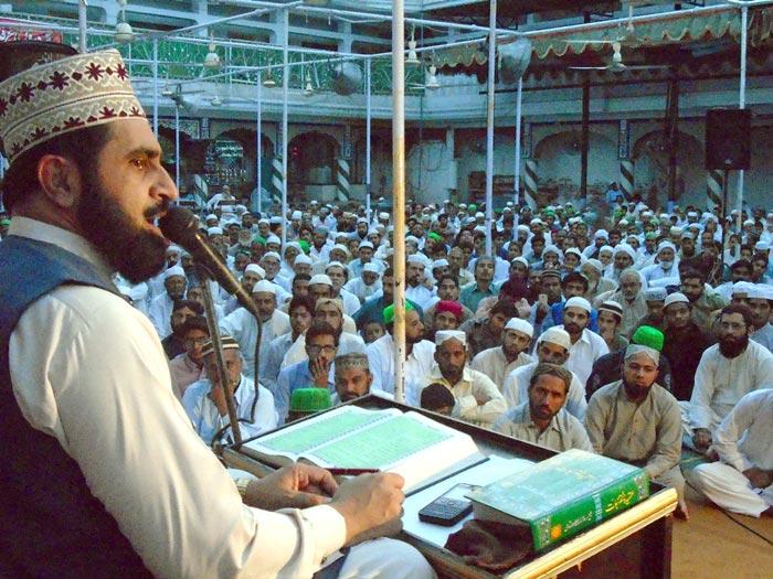 سرگودھا: 5 روزہ دروس عرفان القرآن کا چوتھا روز