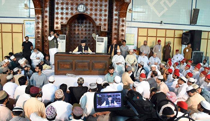 Juma Prayer Friday Sermon delivered Dr Hassan Qadri Itikaf City 2015