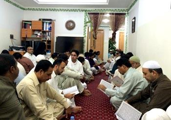 MQI UAE held Mehfil Naat at Sarwar Anjam Deceased