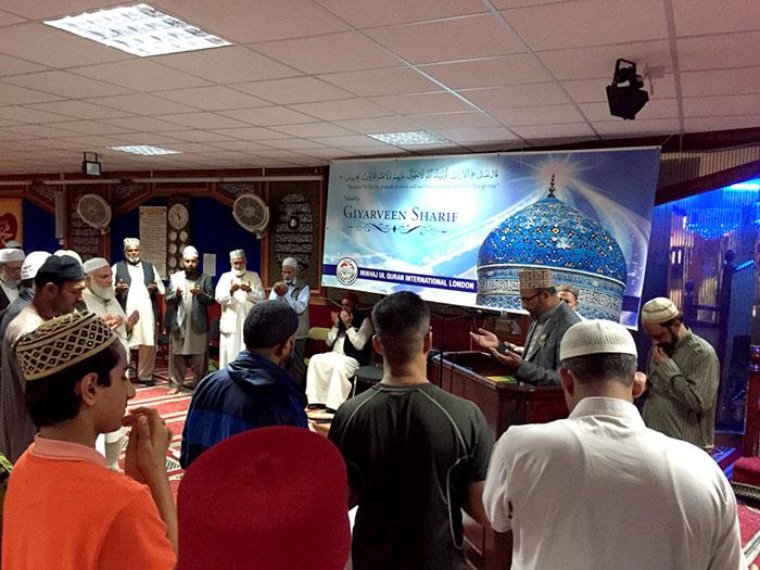 Monthly spiritual gathering held under MQI London