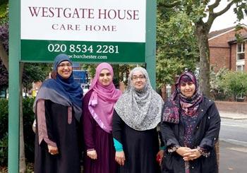 MWL office holders visit nursing home