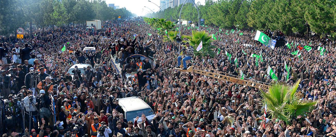 اسلام آباد لانگ مارچ 2013