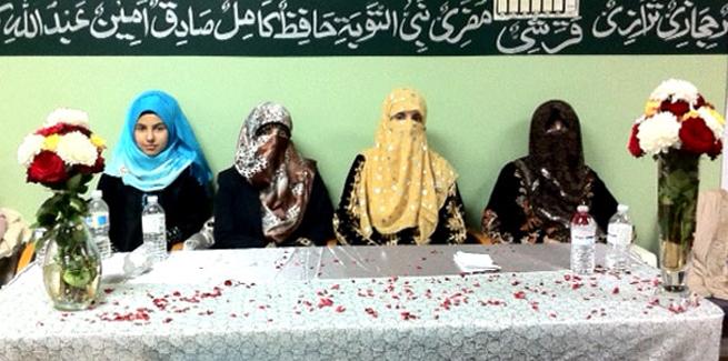 Sister Ghazala Qadri Speaks at the Annual Mawlid Conference, Mississauga