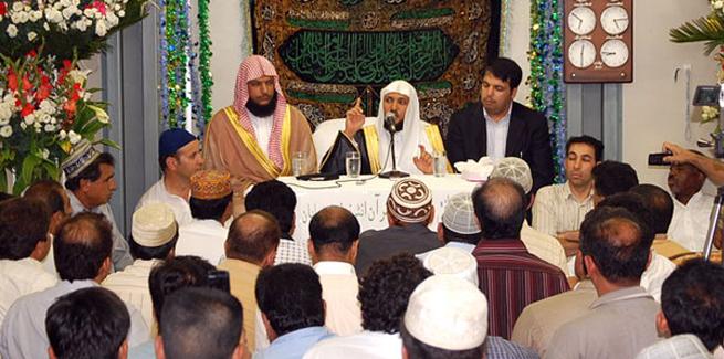 Shaykh Mahir Al-Muaiqely visits MQI Japan