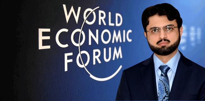 Dr Hassan Qadri's participation in the World Economic Forum