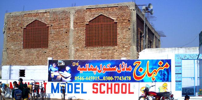 Minhaj Model School Phalia