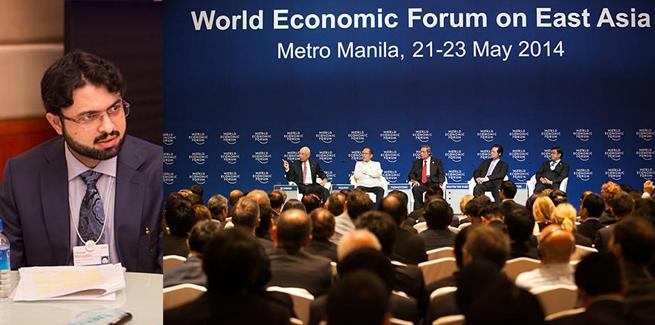 Dr Hasan Mohi-ud-Din Qadri speaks at World Economic Forum