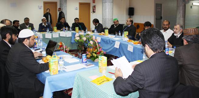 Meeting of Minhaj European Council