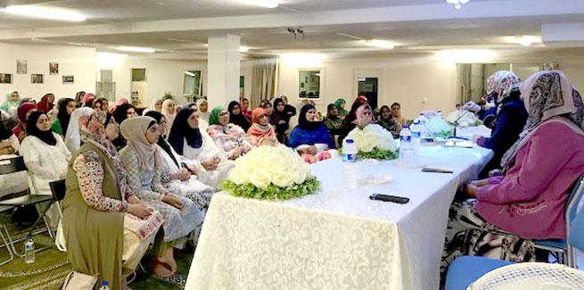 Dr Ghazala Hassan Qadri meets the MWL Malmö