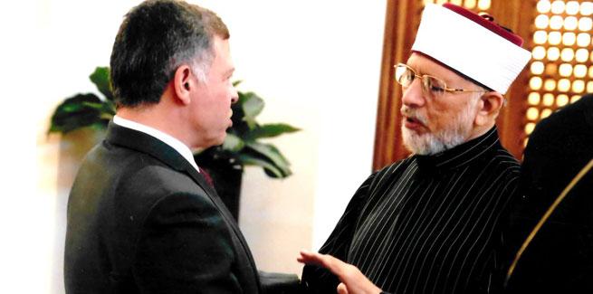 ڈاکٹر طاہر القادری کی کنگ عبداللہ دوئم اردن سے ملاقات