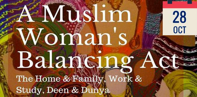 A Muslim Woman's Balancing Act