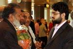 صاحبزادہ حسن محی الدین قادری اور ڈاکٹر رحیق احمد عباسی کا کوپن ہیگن ائیر پورٹ پر استقبال