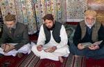 شہید جمہوریت محترمہ بے نظیر بھٹو کے لیے قرآن خوانی