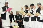 کالج آف شریعہ میں بزم اور منہاج سپورٹس کی تقریب حلف برداری