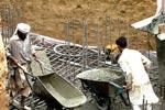 مینارۃ السلام بیسمنٹ کی چھت کا کام اختتامی مراحل میں داخل