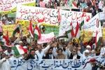 رشدی کو سر کا خطاب دینے کیخلاف پاکستان عوامی تحریک کے تحت ملک گیر احتجاجی مظاہرے