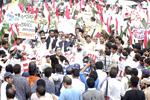 اسرائیلی جارحیت کے خلاف پاکستان عوامی تحریک کا پر امن احتجاجی مظاہرہ