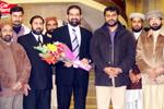 ناظم اعلیٰ تحریک منہاج القرآن کی دورہ یورپ سے وطن واپسی