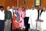 A 5-member US delegation visits Minhaj-ul-Quran International