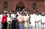 Students of Minhaj University visit the shrine of Allama Muhammad Iqbal (RA)