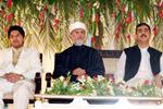 Walima function of Sahibzada Hussain Mohi-ud-Din Qadri