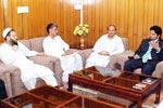 A British delegation visits Central Secretariat