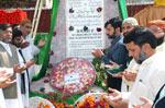 پاکستان عوامی تحریک کے وفد کی شہداء 6 ستمبر کے مزارات پر حاضری
