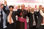 لاہور: مسلم کرسچین ڈائیلاگ فورم کے زیراہتمام میری کرسمس تقریب کا انعقاد