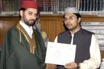 لاہور: تقریب تقسیم اسناد، گوشہء درود
