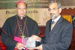 شیخ الاسلام ڈاکٹر محمد طاہرالقادری کے لئے امن ایوارڈ