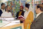 ممبر پنجاب اسمبلی فرزانہ راجہ کی تحریک منہاج القرآن مرکز آمد