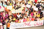 Children's 'Mother Day Walk' under Minhaj Youth League