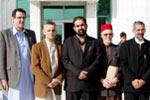 مسیحی وفد کی تحریک منہاج القرآن کے مرکزی سیکرٹریٹ آمد
