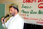 Dars-e Irfan-ul-Quran organized by MQI Northampton, UK