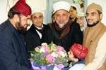 مسجد اقصیٰ کے امام الشیخ الدکتور تاثیر راجب التمیمی کا منہاج القرآن انٹرنیشنل فرانس مرکز کا وزٹ