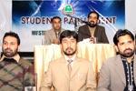 مصطفوی سٹودنٹس موومنٹ کی سٹوڈنٹس پارلیمنٹ کا اجلاس
